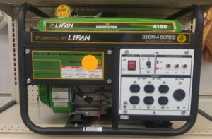 Lifan Generator Available at Sixt Lumber